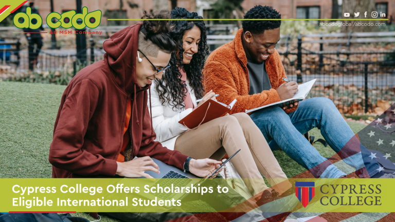 cypress college scholarships intl students banner