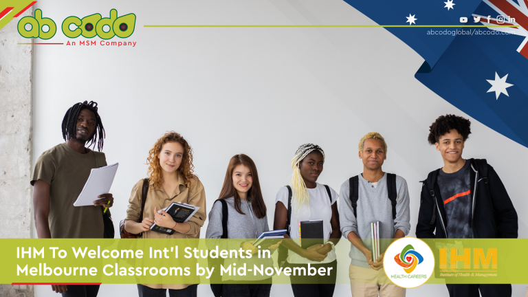 ihm welcome intl students melbourne banner